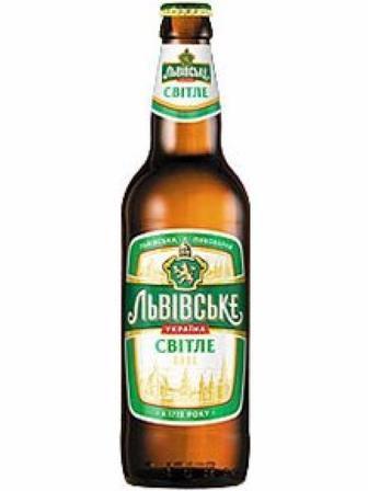 Пиво світле  Львівське  0.5 л