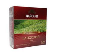 Чай черный байховый, Майский, 100*1,5 г