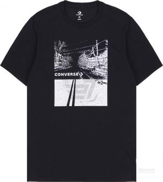 Футболка Converse Roadway Photo Tee 10005913-001 L чорний