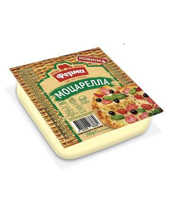 Сир м'який Сулугуні 45% або Моццарелла Ферма 250г