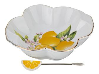Блюдо лимон з виделочкою шт