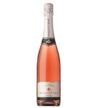 Вино ігристе Мазоттина Кюве Розе Экстра Драй рожеве сухе 0,75 л 11,50%