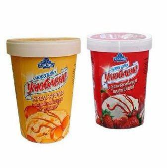 Мороженое Хладик Улюблене 500г