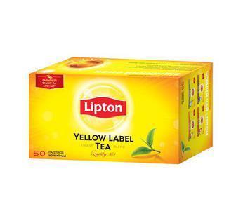 Чай черный YL Липтон 25 пак., 50 пак, 100 пак