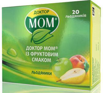 Доктор Мом леденцы от кашля №20 (фрукты)