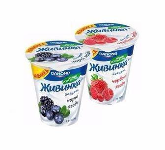 Йогурт Живинка Данон 280г
