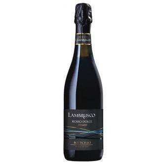Вино ігристе Bottichello Lambrusco червоне солодке 0,75л