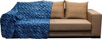 Плед Зигзаги 150x180 см синій UP! (Underprice)