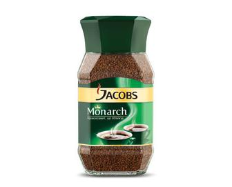 Кава розчинна Jacobs Monarch натуральна сублімована, 190г