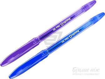 Набір ручок кулькових Optima OIL PRO O12209 2 шт.