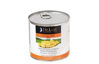 Кукуруза нежная  De   Luxe Foods&Goods Selected  500 мл