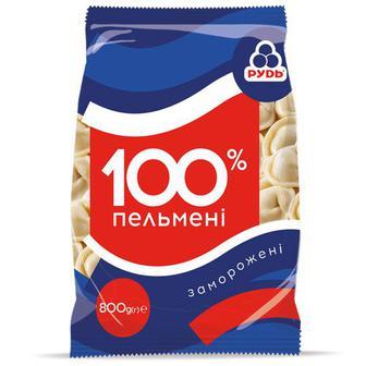 Пельмени 100% Рудь 800г