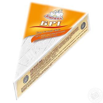 Сир Добряна Бри мягкий с плесенью 50% 115г