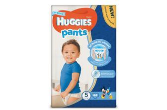 Підгузки-трусики Huggies Pants для хлопчиків 5 (12-17 кг) 44 шт./уп