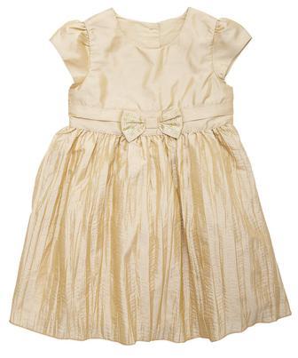 Нарядне плаття золотого кольору від Mothercare