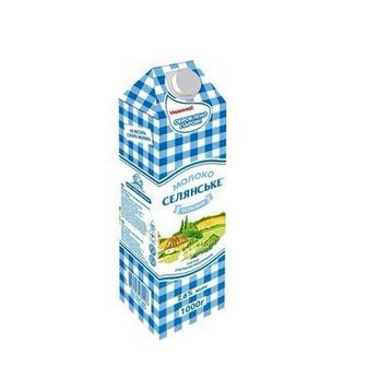 Молоко Селянське Особливе 2,5% 950мл