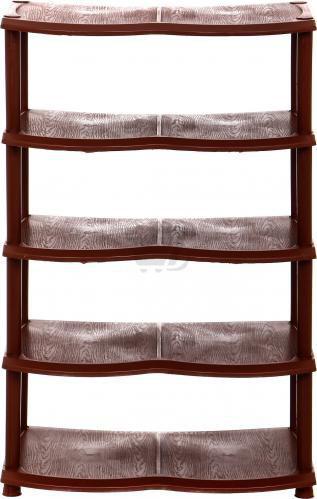 Полиця для взуття 330x540x710 мм коричневий