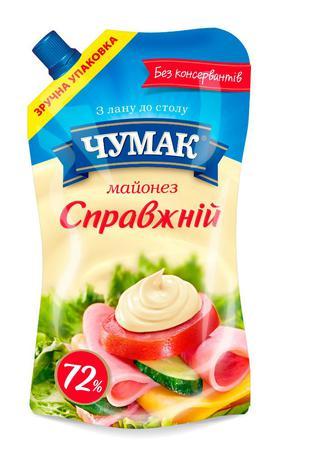 Майонез  Справжнiй, Чумак, 350 г
