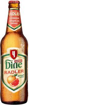 Пиво «Черниговское белое Radler» c грейпфрутом, 0.5л