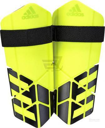 Скидка 30% ▷ Щитки футбольні Adidas CW9721 X YOUTH р. S салатовий