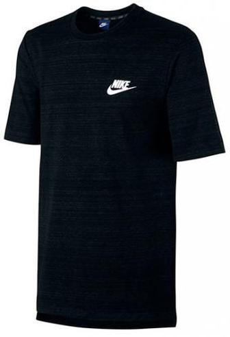 Футболка Nike M NSW AV15 TOP SS KNIT 837010-010 L чорний