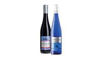 Скидка 31% ▷ Вино Піно Нуар, Рислінг біле напівсолодке Петер Мертес 0,75 л
