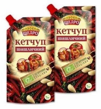 Кетчуп Шашличний, Щедро,300 г