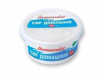 Сир кисломолочний Яготинський Домашній 5% 370