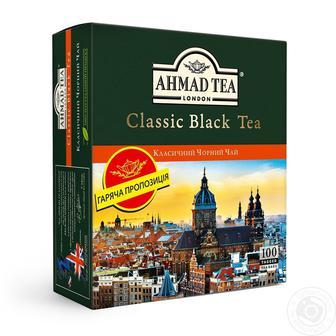 Чай черный Ahmad tea Класичний 100шт