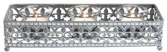 Свічник BENNY 9х28х6см метал